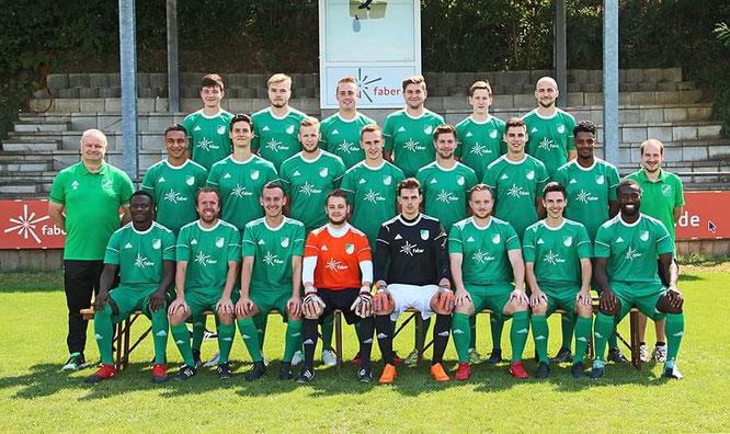 Die zweite Mannschaft des SV Auersmacher.