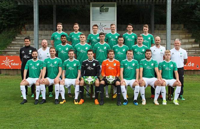 Die erste Mannschaft des SV Auersmacher.