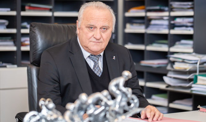 Klaus Bouillon, der Innenminister des Saarlandes.