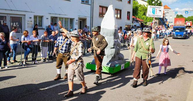 Die Ensheimer Berchschdeier.