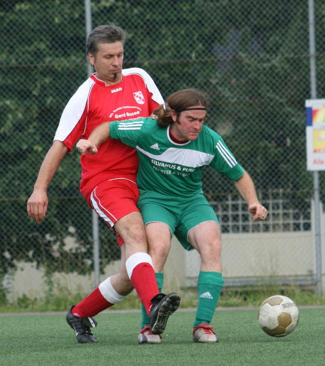 Beim Sportverein Auersmacher spielte Alexander Lang Fußball.