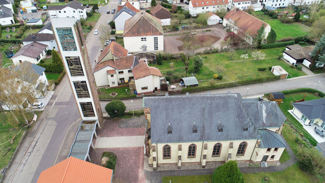 Der Glockenturm wurde im Jahr 1962 eingeweiht.