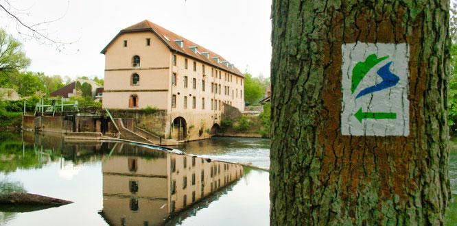Die Wackenmühle liegt am Premium Wanderweg.