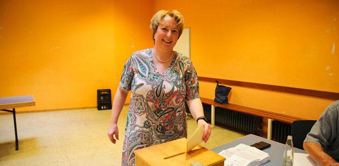 Bürgermeister-Kandidatin Erika Heit (CDU).