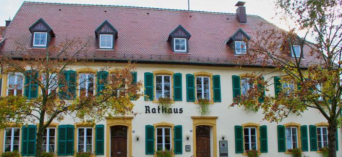 Das Historische Rathaus von Kleinblittersdorf.