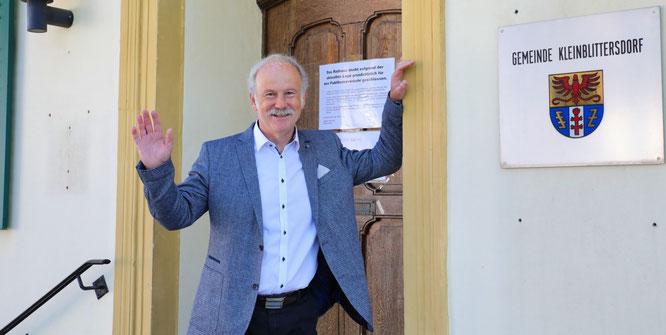 Nach 18 Jahren ist Schluss. Stephan Strichertz ist noch bis zum 30. April Bürgermeister der Gemeinde Kleinblittersdorf.
