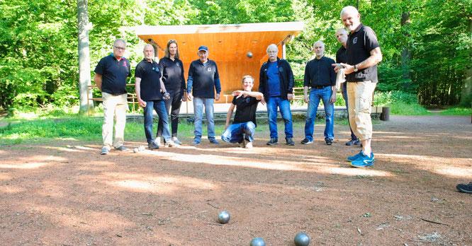 Am Waldhaus in Sitterswald wird ab Dienstag wieder Boule gespielt.