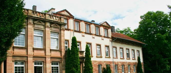 Das Schloss Falkenhorst in Kleinblittersdorf