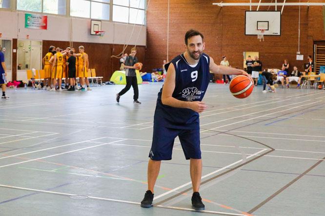 Simon Zeitz ist 41 Jahre alt und war vor 25 Jahren dafür verantwortlich, dass in Kleinblittersdorf plötzlich Basketball gespielt wurde.