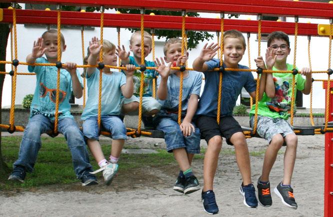 Der Spielplatz am Kirschwald ist wieder top in Schuss. Foto: Heiko Lehmann