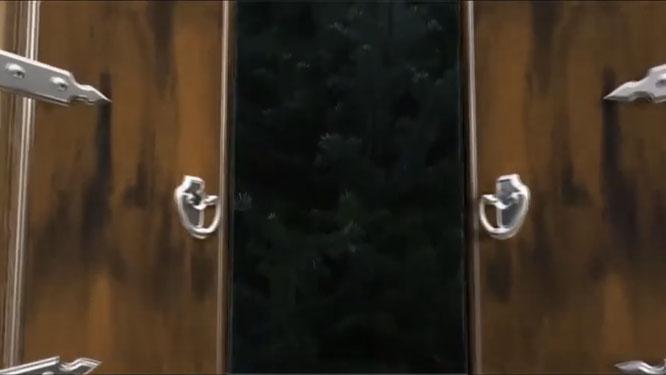 """Das zwölfte """"digitale"""" Adventsfenster in Auersmacher."""
