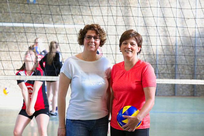 Bärbel Maue (links) und Stefanie Zimmerling sind die zwei Aushängeschilder des SV Sitterswald. Bei sind schon mehr als 25 Jahre im Verein.