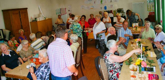 Das Café Schwätzje gibt es seit 14 Jahren. Hier ein Foto von der Fünfjahresfeier aus dem Jahr 2010.