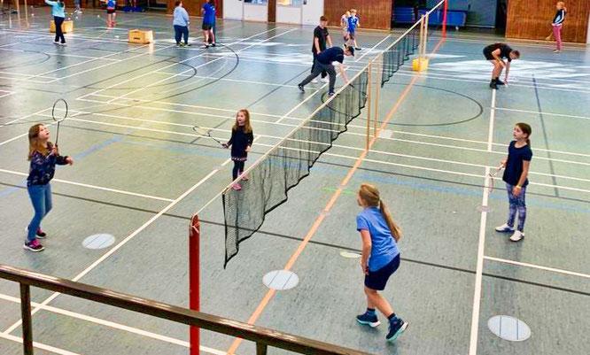 Der erste Badminton Day der Schwimm- und Sportfreunde Kleinblittersdorf war ein voller Erfolg.