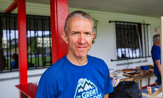 Peter Schwöbel, der Rennsportleiter der Edelweißen in Bliesransbach.