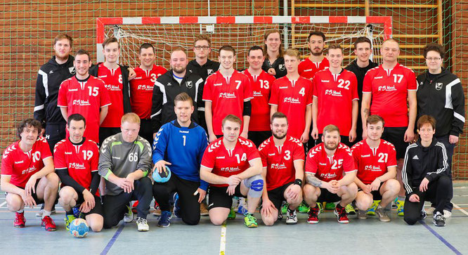 Die Meistermannschaft der Sportfreunde Hanweiler
