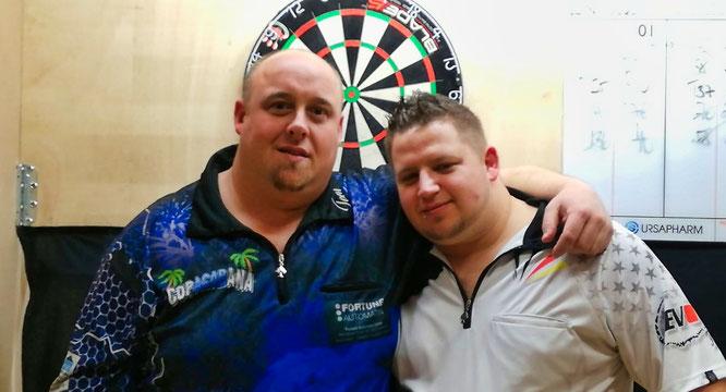 Thomas Klein (links) und Steven Noster.