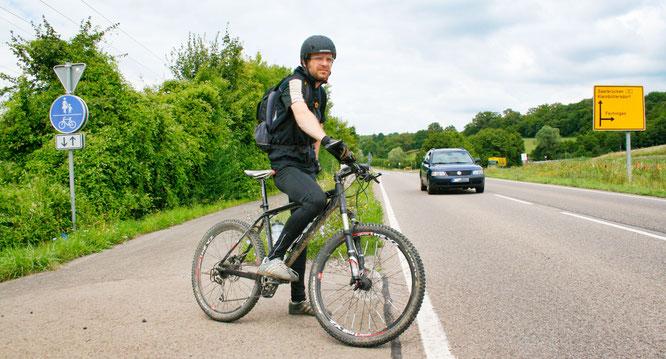 Das Verkehrsministerium würde die Gemeinde Kleinblittersdorf auf finanziell bei der Instandsetzung von Radwegen unterstützen.