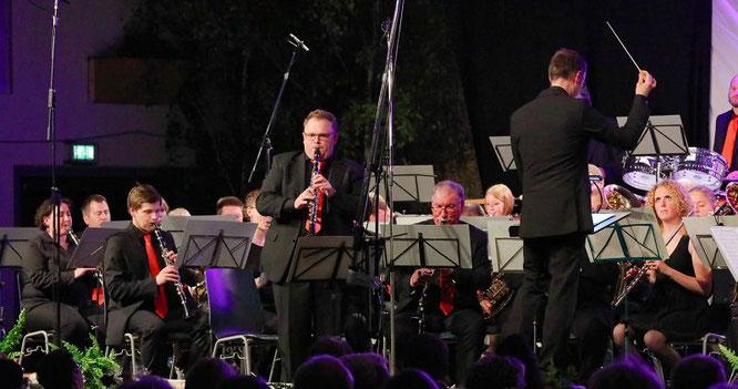 Solo von Steve Bernard bei dem Stück Benny Goodman Memories.