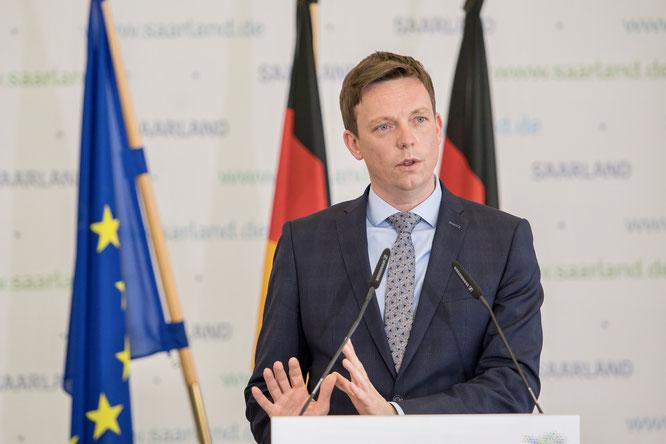 Tobias Hans, Ministerpräsident des Saarlandes.
