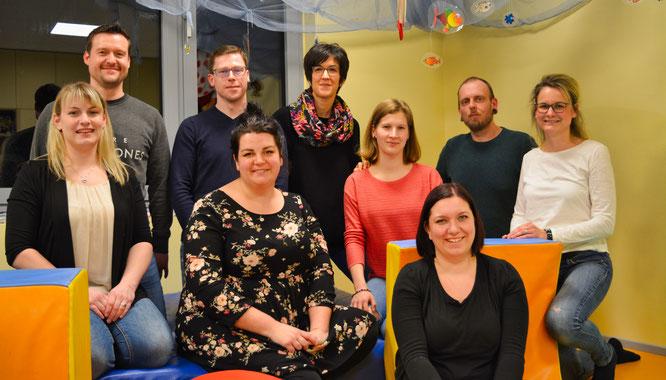 Der erste Vorstand des Fördervereins der Kindertagesstätte in Bliesransbach.