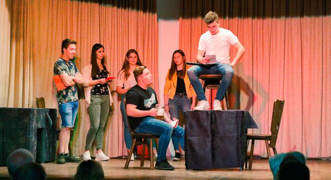 Der Theaterverein Saargold Humes war im vergangenen Jahr auch bei den Mundarttagen in Bliesransbach dabei.