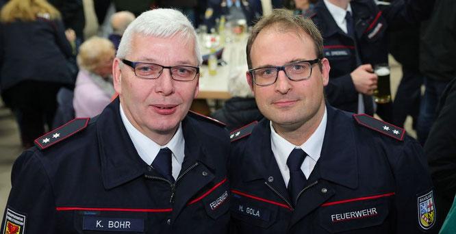 Karl Leo Bohr (links) und Markus Gola