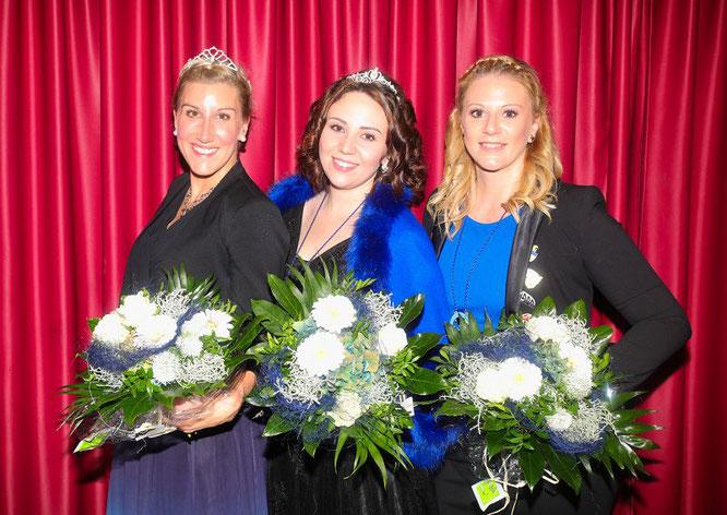 Drei Prinzessinnen der Saarlänner