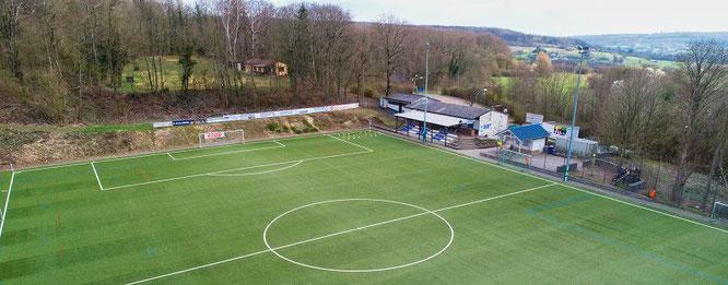 Das Meerwald-Stadion ist die Heimat der Bübinger Fußballer.