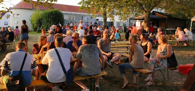 Sommerfest 2019 auf dem Gelände der AWO in Sitterswald.