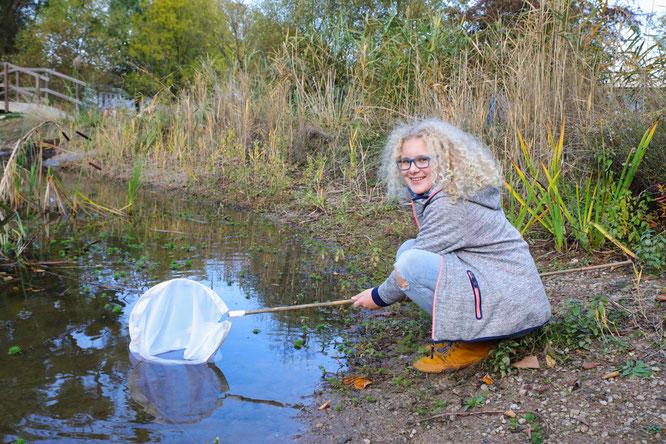 Charlotte Emanuel aus Auersmacher mag die Arbeit in der Natur.