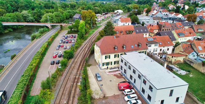 Das Rathaus in Kleinblittersdorf.