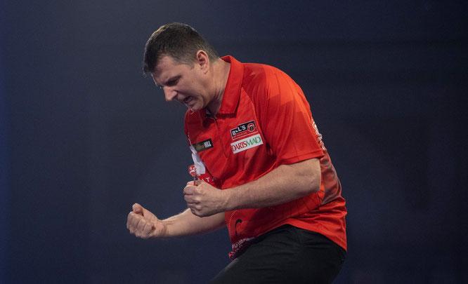 Krzysztof Ratajski war am Ende der glückliche, aber auch verdiente Sieger.