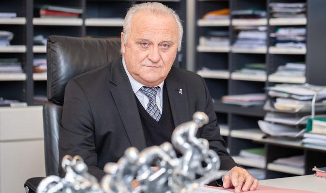 Der Saarländische Innenminister Klaus Bouillon.
