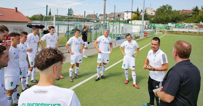 Am Samstag empfängt der SV Auersmacher Borussia Neunkirchen im Viertelfinale des Saarlandpokals.