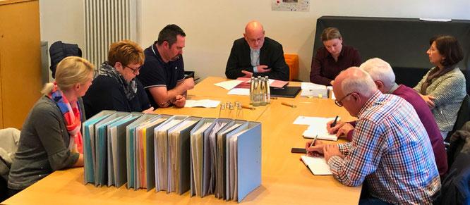 Der Gemeindewahlausschuss tagte am Dienstag in Auersmacher.