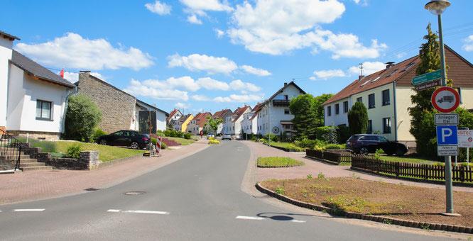 Die Dr.-Kirbs-Straße in Rilchingen-Hanweiler.