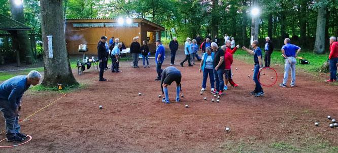 Mehr als fünf Stunden dauerte das Final-Turnier am Waldhaus