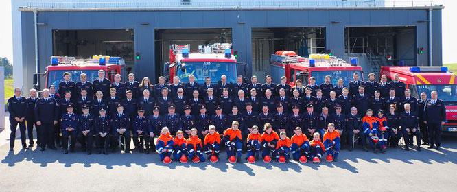 Der neue Löschbezirk Mitte besteht aus Feuerwehrleuten von Sitterswald und Auersmacher.