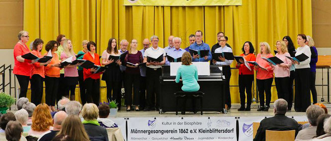 Der Gospelchor Humble Voices.