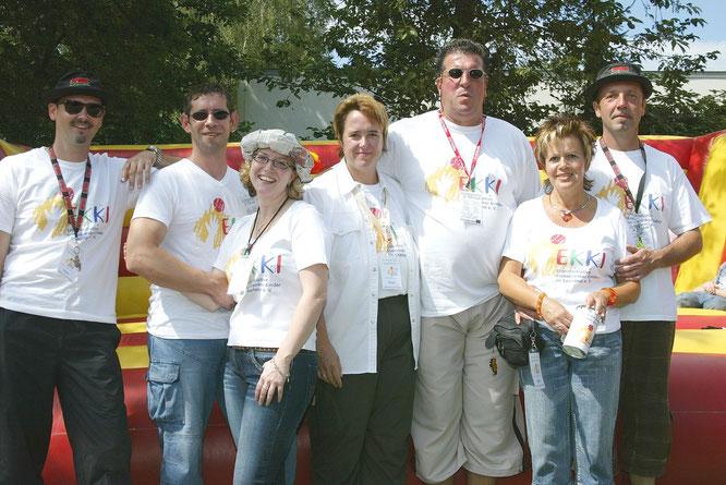 Die Festorganisatoren im Jahr 2010.