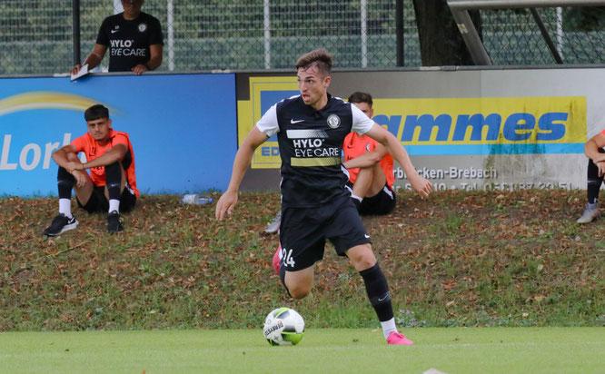 SVE-Neuzugang Luca Schnellbacher ist erst 26 Jahre alt und hat schon 220 Spiele in der 3. Fußball-Liga absolviert.