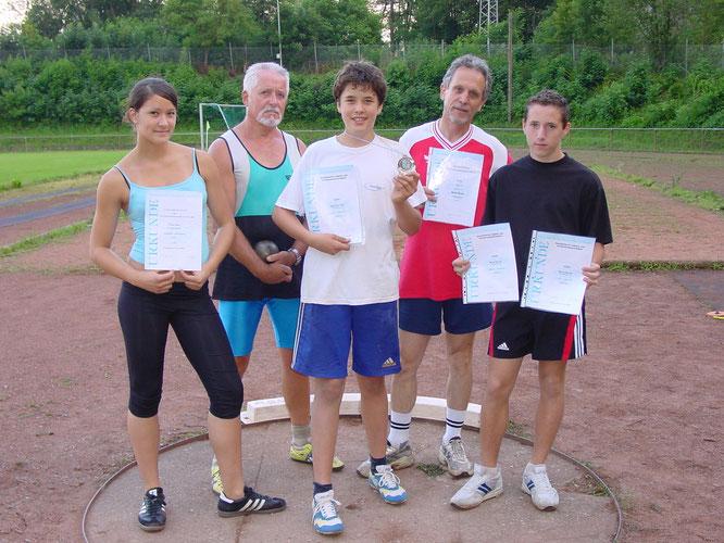 Im Jahr 2005 hatte die Leichtathletik-Abteilung große Erfolge gelandet.