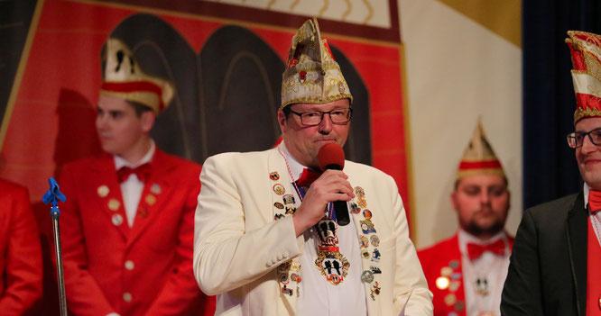 Stephan Köhler, neuer Ehrenpräsident der Kowe.