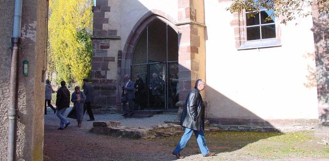 Die Wintringer Kapelle in Kleinblittersdorf.