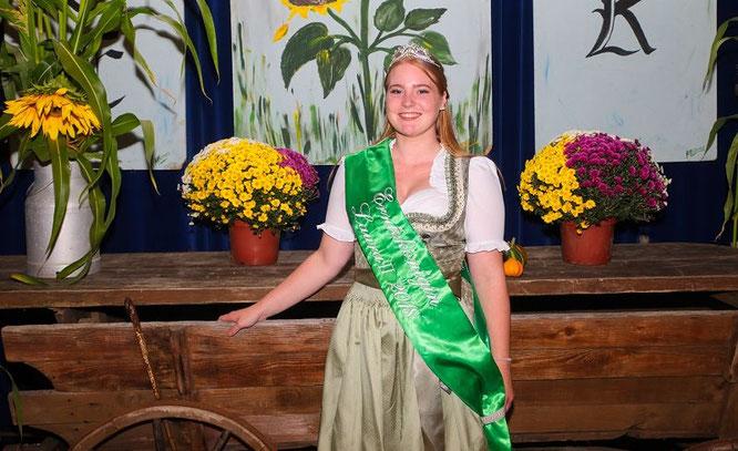 Laura Thörner ist die neue Erntekönigin von Auersmacher.