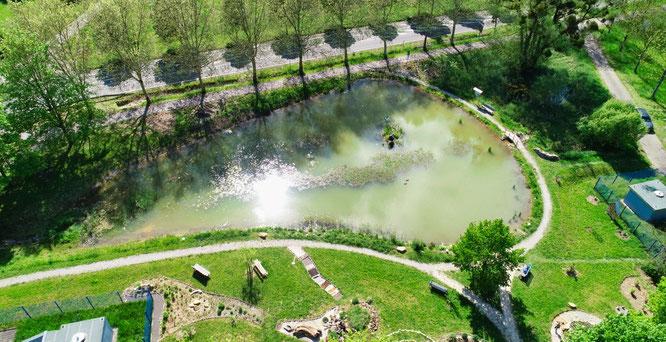 Robert-Jeanrond-Bürgerpark in Kleinblittersdorf.