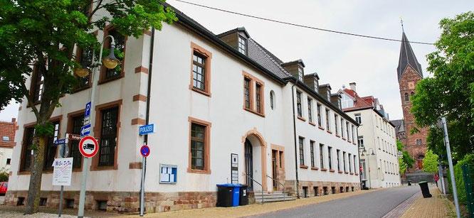 Das Verwaltungsgebäude in der Alte Schulstraße 5 in Kleinblittersdorf wird verkauft.
