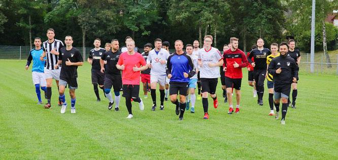 Die SF Hanweiler sind in die Vorbereitung auf die Kreisliga-Saison gestartet.