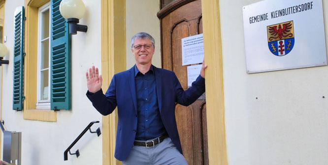 Rainer Lang ist ab dem 1. Mai der neue Bürgermeister von Kleinblittersdorf.